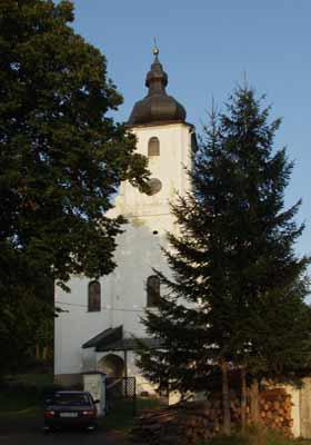 Kostel v Heřmanovicích