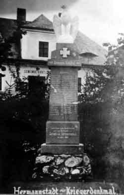 Památník obětem 1. světové války
