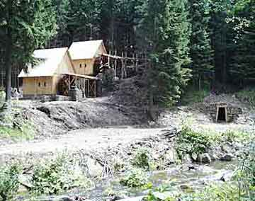 hornická naučná stezka - Zlatý potok